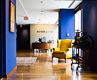 Eurasia Group - Eurasia Group's Washington, D.C. office lobby