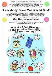 Everybody Draw Mohammed Day action day