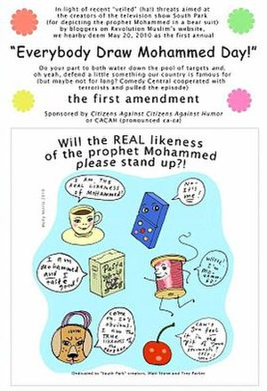 "Everybody Draw Mohammed Day - Cartoon, ""Everybody Draw Mohammed Day!"""