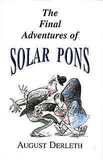 <i>The Final Adventures of Solar Pons</i> book by August Derleth