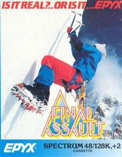 <i>Final Assault</i> 1987 video game