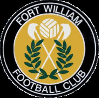 Fort William F.C. - Image: Fortwilliambadge