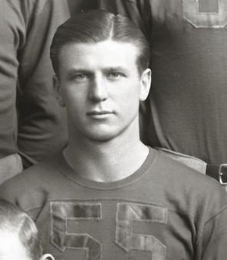 Fred Trosko - Fred Trosko cropped from 1939 Michigan team photograph