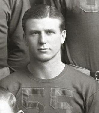 Fred Trosko - Trosko cropped from 1939 Michigan team photograph