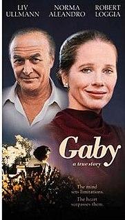 <i>Gaby: A True Story</i> 1987 film directed by Luis Mandoki