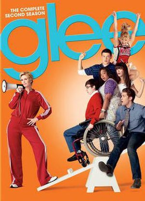 Glee (season 2) - Promotional poster and home media cover art