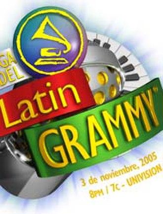 6th Annual Latin Grammy Awards - Image: Grammy latino 2005