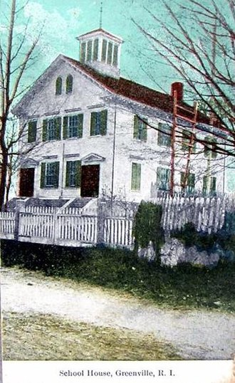 William Winsor School - Image: Greenville RI School House