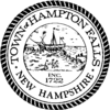 Official seal of Hampton Falls, New Hampshire