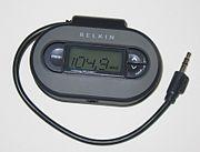 Belkin TuneCast II for iPod FM microtransmitter