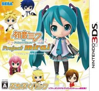 <i>Hatsune Miku and Future Stars: Project Mirai</i> video game