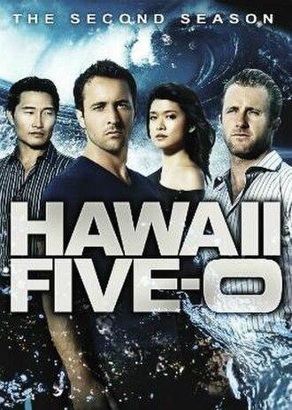 Hawaii Five-0 (2010 TV series, season 2) - Season 2 U.S. DVD cover