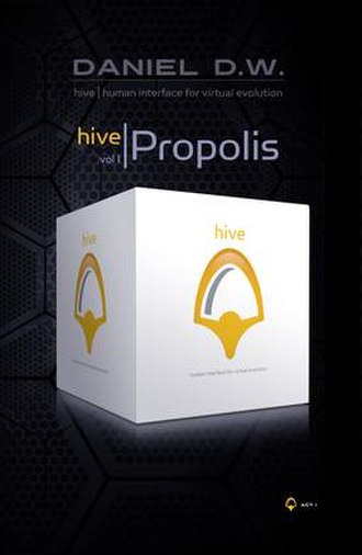 Hive Propolis - Cover to the first printing