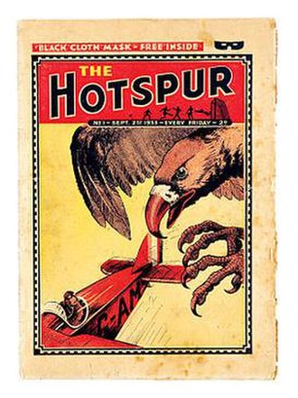The Hotspur - Issue 1 of Hotspur (1933)