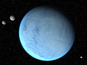 Hoth - Hoth and its three natural satellites in The Empire Strikes Back
