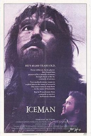 Iceman (1984 film) - Original film poster