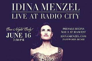 Idina Menzel: Live at Radio City