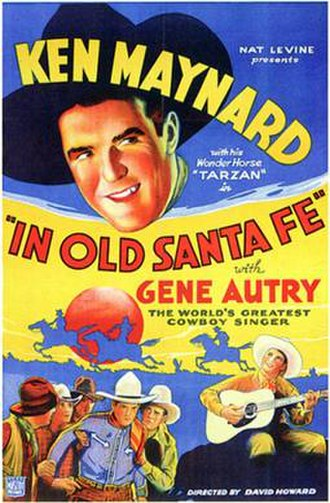 In Old Santa Fe - Theatrical release poster