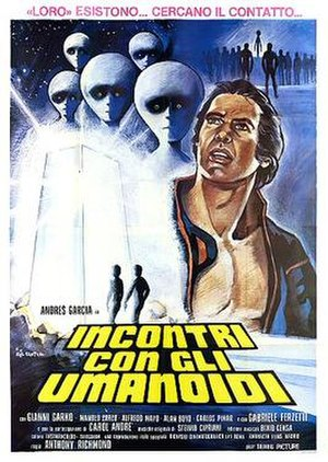 Encounters in the Deep - Italian theatrical release poster