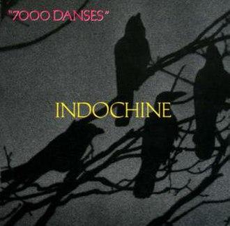 7000 Danses - Image: Indochine 7000 Danses front
