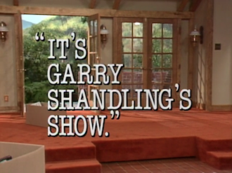 It's Garry Shandling's Show - Title screen from the first episode