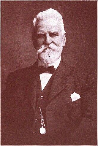 Seneca Nation of Indians v. Christy - James Clark Strong, lawyer for the Seneca