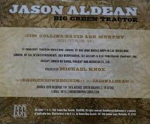 Big Green Tractor - Image: Jason Aldean Big Green Tractor
