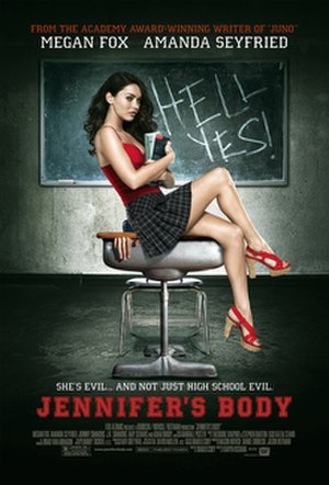 Jennifer's Body - Theatrical Release Poster