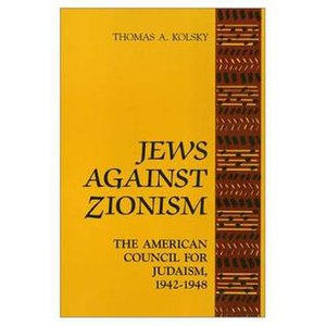 Jews Against Zionism (book)