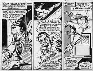 Jim Mooney - Image: Jim Mooney Spider Man