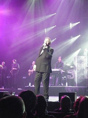 "John Farnham - John Farnham performing at the Queensland Performing Arts Complex on 4 October 2009 during the ""Live By Demand"" tour"