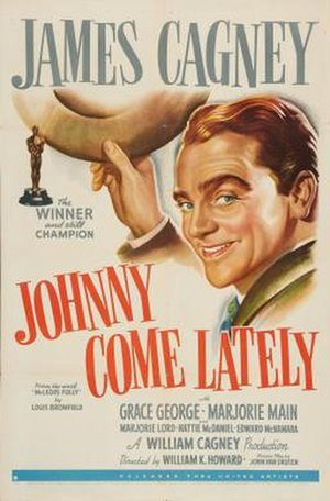 Johnny Come Lately - Image: Johnny Come Lately Film Poster