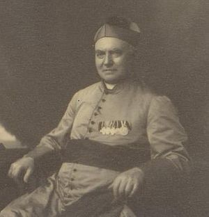 Pontifical College Josephinum - Monsignor Joseph Jessing, seen here in 1896 wearing decorations from his years in the Prussian Army, founded the Josephinum in 1888.