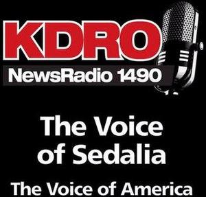 KDRO - Image: KDRO News Radio 1490 logo