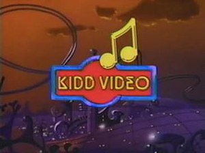 Kidd Video - Title card used during the first season
