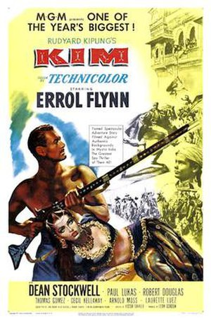 Kim (1950 film) - 1950 Theatrical Poster