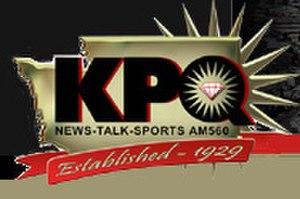 KPQ (AM) - Former logo.