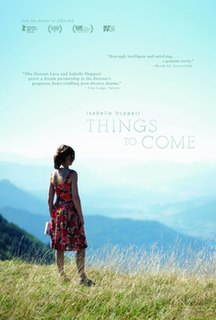 <i>Things to Come</i> (2016 film) 2016 film