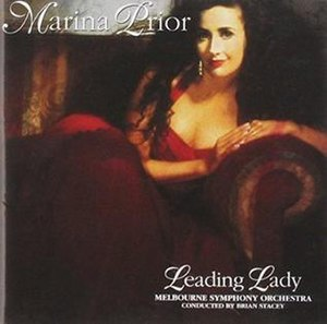 Leading Lady (album) - Image: Leading Lady by Marina Prior