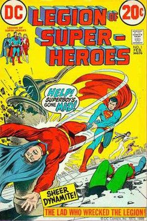 Legion of Super-Heroes (1958 team) - Image: Legion v 1 1cardy