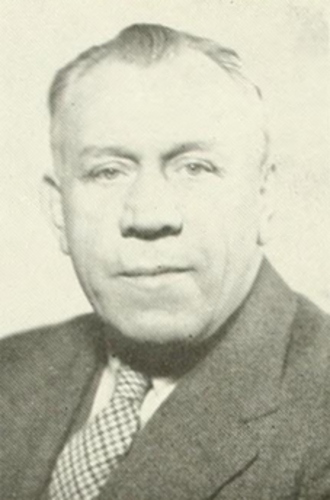 Leo Prendergast - Prendergast pictured in Epitome 1946, Lehigh yearbook
