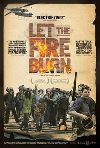 Picture of a movie: Let The Fire Burn