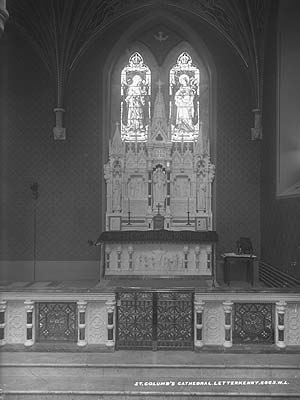 Cathedral of St. Eunan and St. Columba - Cathedral altar c.1900