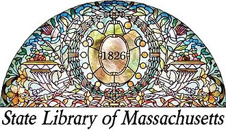 State Library of Massachusetts - Image: Library 2015 logo WHITE