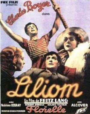 Liliom (1934 film) - French film poster for Liliom