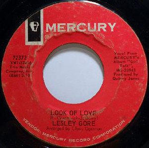 Look of Love (Lesley Gore song) - Image: Look of Love 45