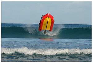 Inflatable Rescue Boat - IRB at Lorne VIC