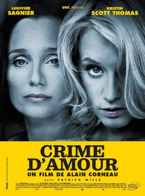 Love Crime - Theatrical film poster