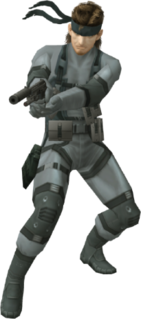 Solid Snake Fictional character from the Metal Gear series