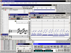 Master Tracks Pro 6.8.3 running on Windows 7